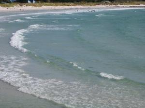 Middleton Beach taken from the boardwalk.