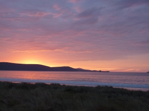 Sunrise over King George Sound, Albany