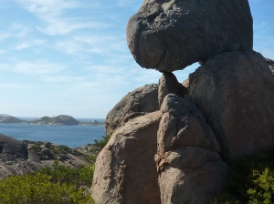 Huge boulders balancing on each other - awesome