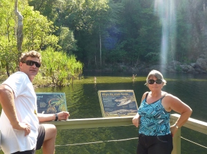 Kelv and me overlooking Florence Falls in Litchfield.
