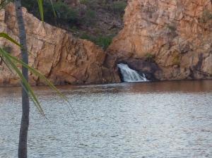 Swimming hole at Edith Falls.