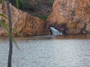 Swimming hole at Edith Falls.