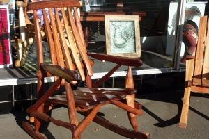 Rustic hand crafted wood work