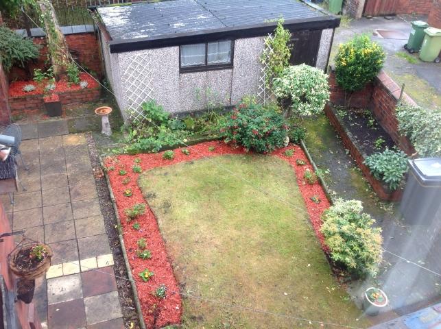 dads back garden