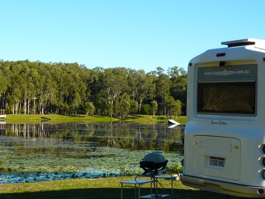 Camped at another Billabong.